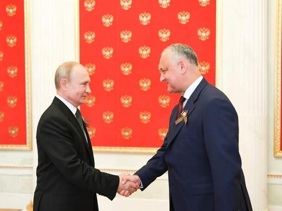 Додон: Стратегическое партнерство с Россией - на высоком уровне