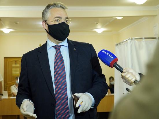 Глава Ставрополья поддержал поправки в Конституцию своим голосом