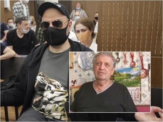 Отец Кирилла Серебренникова расплакался, узнав о решение суда