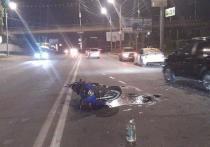 В Саратовской области в ДТП попали мотоциклист и велосипедист