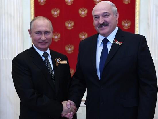 Лукашенко назвал Путину условие более глубокой интеграции с Россией