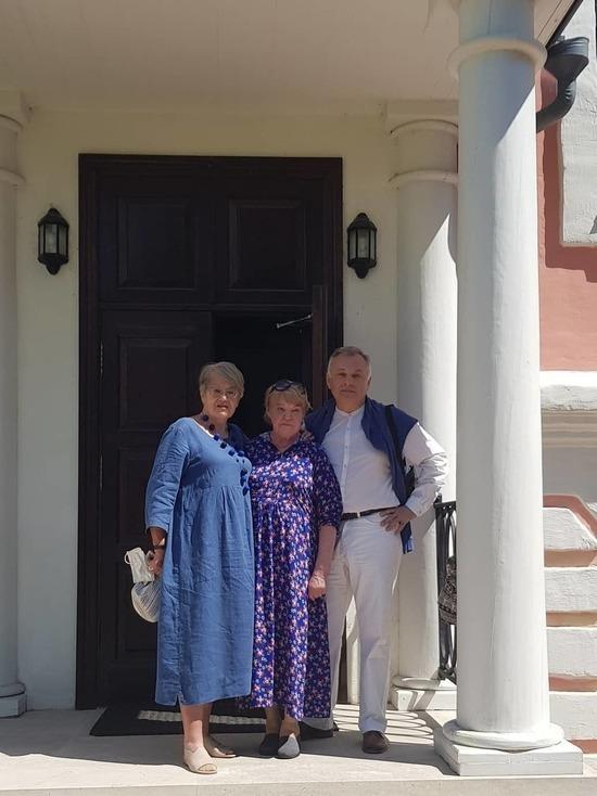 Чехов посетила потомок А.С. Пушкина