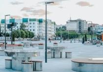 Обновленную Красную площадь в Чебоксарах открыли для прогулок