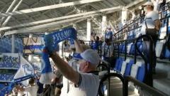 Динамо – ЦСКА: фанаты поют перед матчем