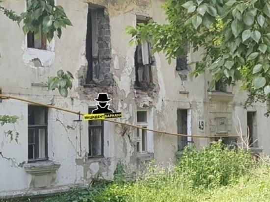 Барнаульцы жалуются на взрывоопасный дом