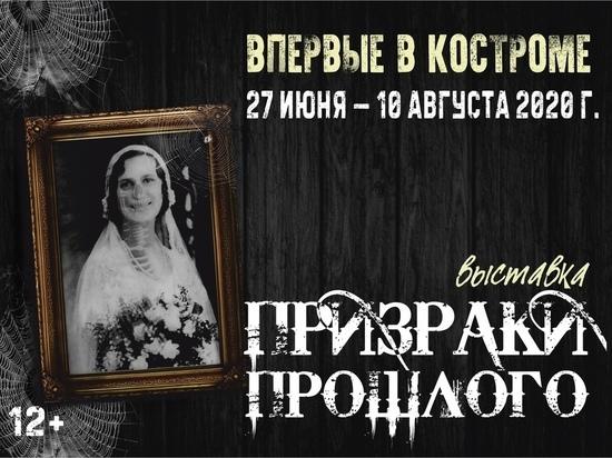 С 27 июня, в Костромском историко-архитектурном и художественном музее-заповеднике открылась очень своеобразная фотовыставка