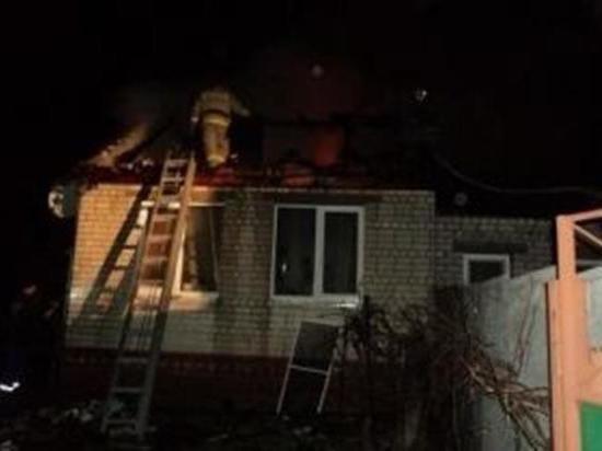 В Хакасии минувшей ночью горела дача