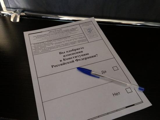 Жители Йошкар-Олы соблюдают меры безопасности на голосовании
