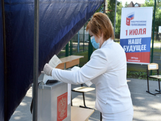 Мэр Рязани проголосовала по поправкам в Конституцию