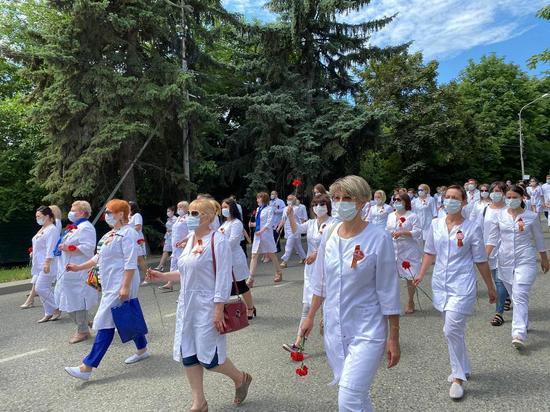Ставропольский Марш врачей показали в эфире французского телеканала