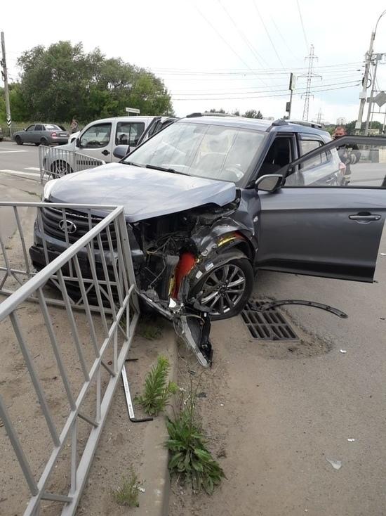В Орле в ДТП пострадали трое детей