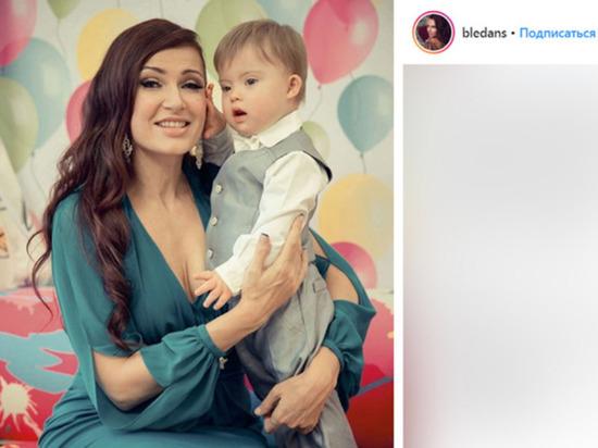 Опубликовано видео особенного сына Бледанс с младшей сестрой