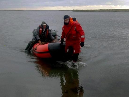 В Челябинской области из-за сильного ветра чуть не погибли трое рыбаков