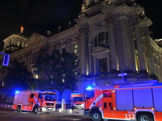 Германия: Неизвестные пытались поджечь здание Рейхстага
