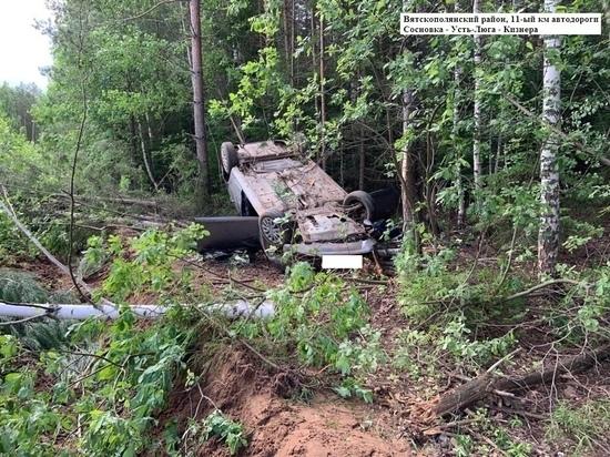 В Кировской области за сутки двое погибли в ДТП