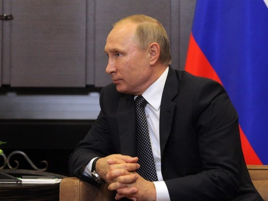 Путин выступает в гонке за новый мандат доверия