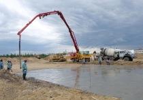 В Новом Уренгое начали заливать фундамент будущего госпиталя для лечения COVID-19
