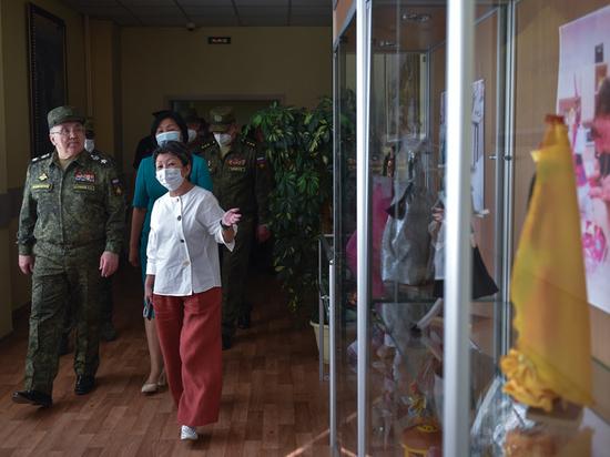 Минобороны открыло противовирусный медцентр в республике Тыва
