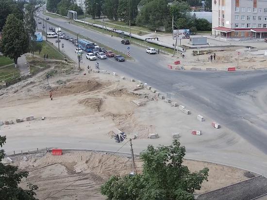 Улицу Индустриальную в Пскове откроют после ремонта позже обещанного