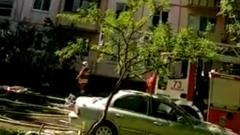 Пожарные спасли необычных жильцов взорвавшегося дома на улице Проходчиков