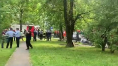 Пострадавшая от взрыва пятиэтажка может рухнуть: видео