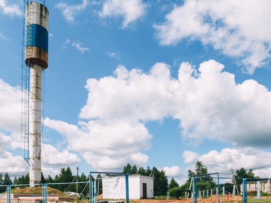 Губернатор проверил строительство станции водоподготовки в Темкине