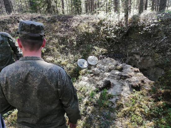 Под Алакуртти найден схрон снарядов времён ВОв