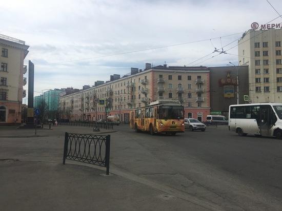 В центре Мурманска временно перенесли остановку