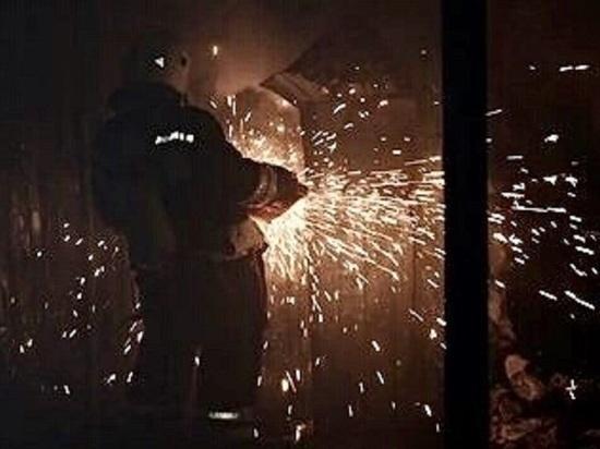В калмыцкой столице загорелся центральный рынок
