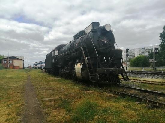 В Рыбинске готовятся к установке ретро-паровоза