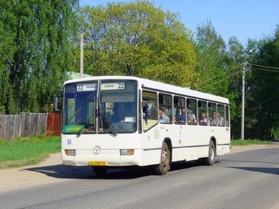 1 июля в Костроме появятся временные автобусные маршруты