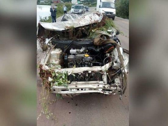 В Башкирии водитель без прав едва не погубил свою пассажирку