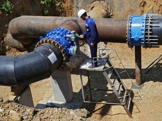 Для снабжения Симферополя запустили второй водовод
