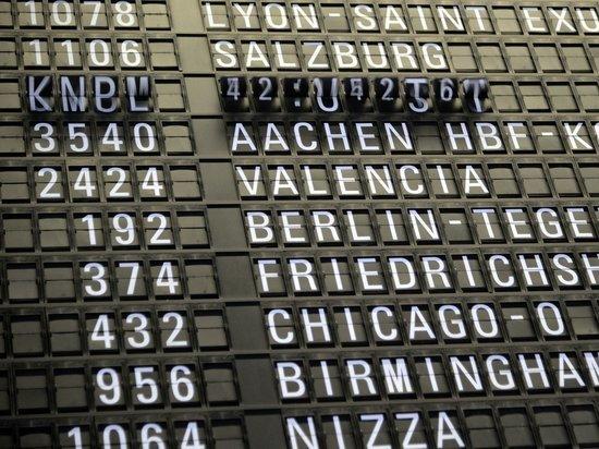 Количество авиарейсов из Германии снова увеличивается