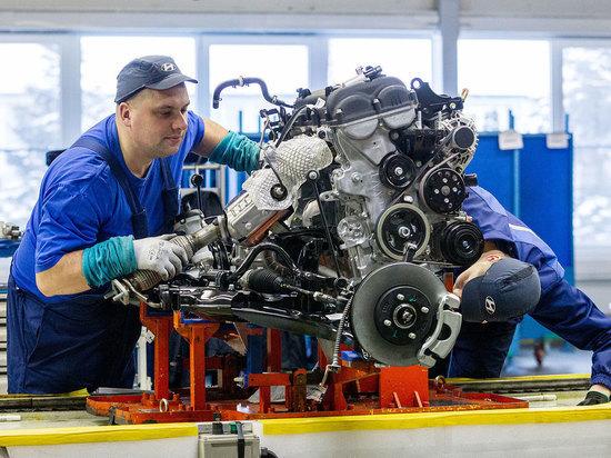 Корейский автоконцерн построит в Петербурге свой завод двигателей