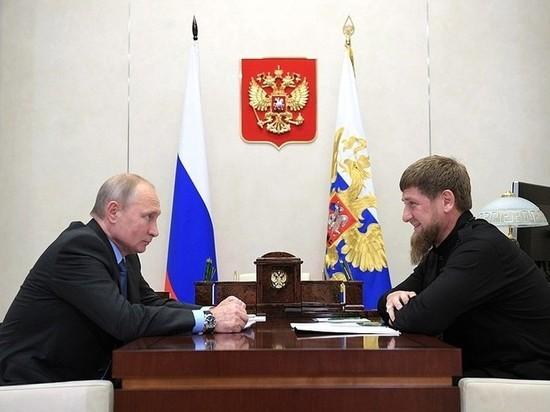 """В Кремле ответили на предложение Кадырова о """"пожизненном президенте"""""""