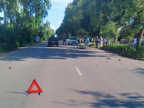 В орловских Ливнах автомобиль сбил 15-летнего велосипедиста
