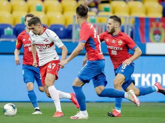 ЦСКА разложил «Спартак», но потерял Чалова: дерби удалось