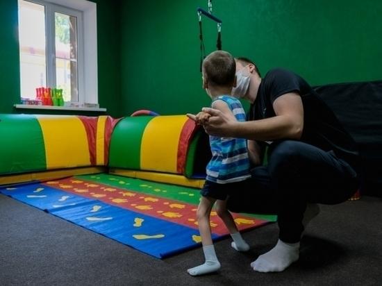 Реабилитационные центры возобновили очные занятия с детьми-инвалидами
