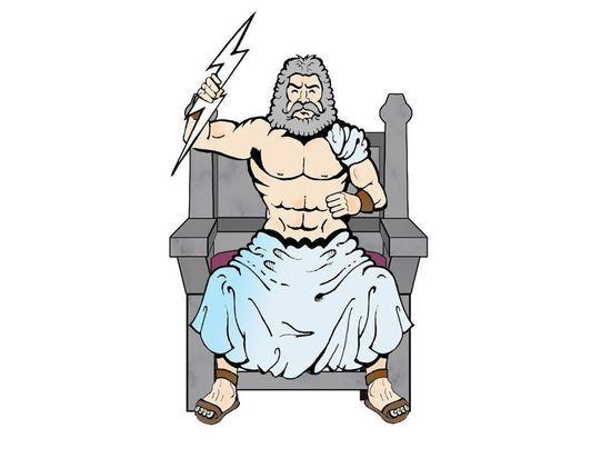 Брянский блогер Виткевич сравнил себя с Зевсом