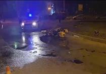 Пассажирка мотоцикла погибла в Ангарске