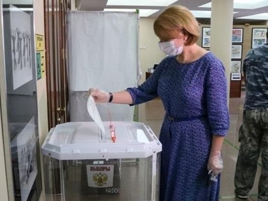 Глава Серпухова проголосовала по вопросу поправок в Конституцию