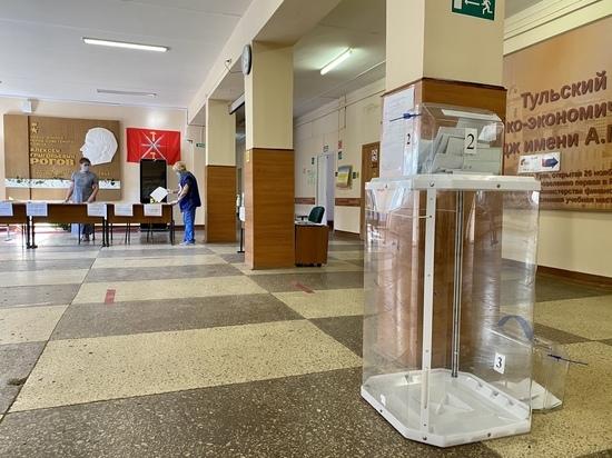 Явка на голосование в Тульской области увеличилась