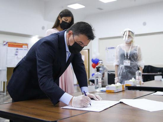 Андрей Воробьев проголосовал по вопросу внесения поправок в Конституцию РФ