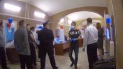 Голосование за решеткой: видео из московского СИЗО:
