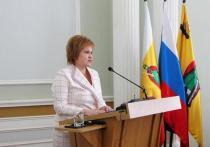 Глава администрации города выступила с отчетом перед депутатами