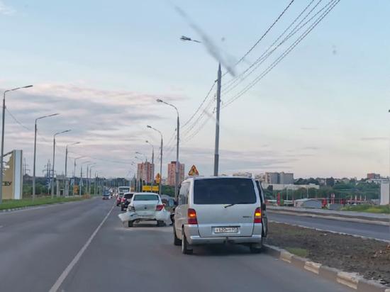 Из-за ДТП на Восточном обводе в Туле затруднено движение транспорта