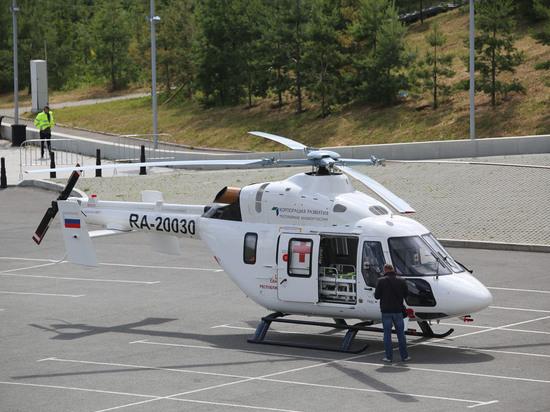 Санитарная авиация Башкирии пополнилась еще одним вертолетом