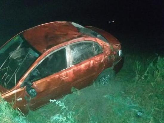 На Дону подвыпивший водитель иномарки пострадал при опрокидывании автомобиля