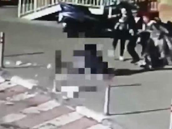 В Красногорске брошенная с балкона бутылка пробила девочке голову